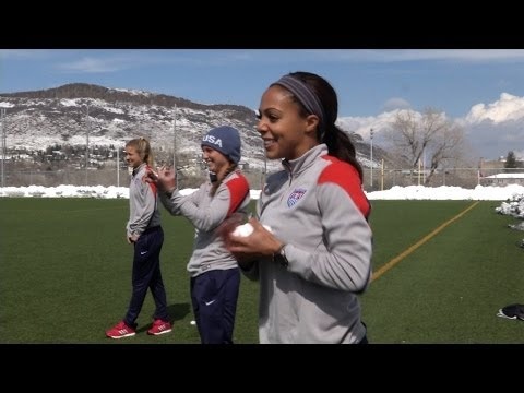 U.S. Women-s National Team Training Session