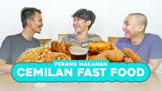Video PERANG CEMILAN FAST FOOD! MP3, 3GP, MP4, WEBM, AVI, FLV Februari 2019
