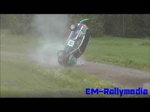SM Pohjanmaa Ralli 2013 (Incl. big crash)