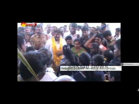 TDP MLA Nandamuri Balakrishna tours in Hindupur Constituency