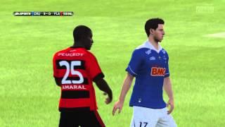 Partida entre Cruzeiro e Flamengo com mais um golaço do Ricardo Goulart EA SPORTS™ FIFA 14 https://store.playstation.com/#!
