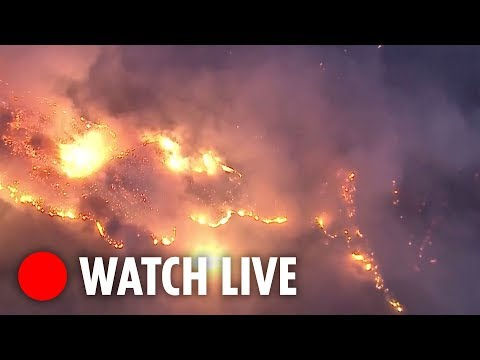 Wildfires tear through homes in Ventura County, California