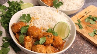 Thai Curry Meatballs by Laura in the Kitchen