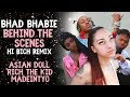 "BHAD BHABIE ""Hi Bich Remix"" BTS Music Video 
