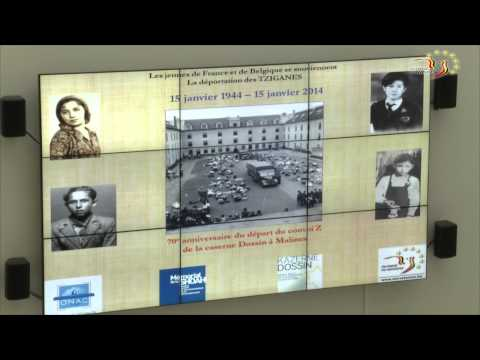 Transport Z :  commémoration à la Caserne Dossin