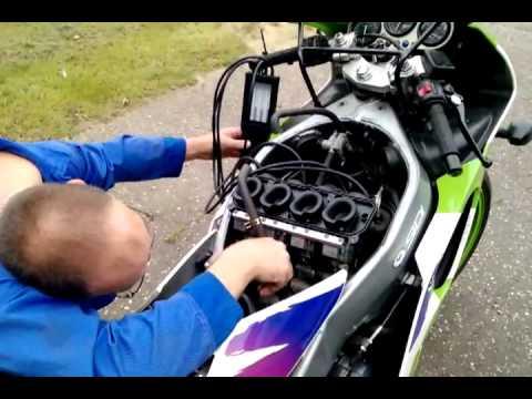 Carb Balancing Kawasaki ZX6R F1