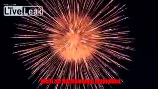 Selbstgemachtes Feuerwerk beeindruckt Netz