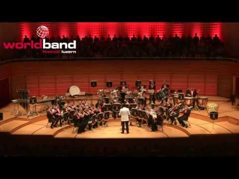 Black Dyke Band plays Fire in the Blood @ World Band Festival Luzern - KKL Luzern