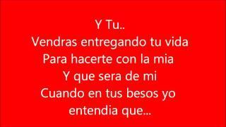 Franco de vita ft Alejandra Guzman Tan solo tu letra