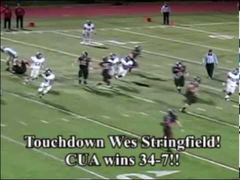 CUA Football vs. Shenandoah - Highlights