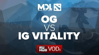 iG.V vs OG, game 1