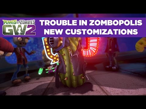 Plants vs. Zombies Garden Warfare 2 – Graveyard Variety Pack DLC – HD Gameplay Trailer