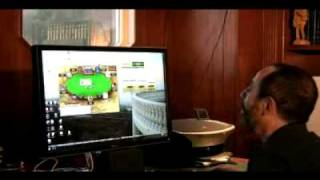 Barry Greenstein Playing Online Poker