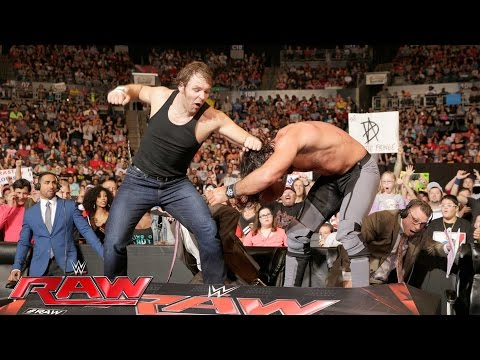 Dean Ambrose Ends Seth Rollins' Tirade: Raw, July 4, 2016