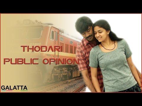 Thodari-Public-Opinion-Dhanush-Keerthy-Suresh-Galatta-Tamil