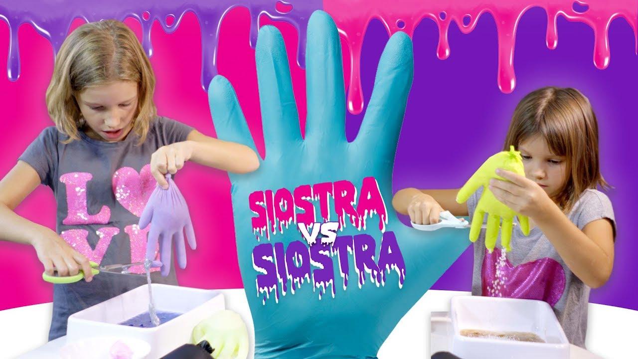 Rękawicowe wyzwanie, Slime Challenge - Siostra kontra Siostra