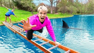 Nonton Last to Fall Into Backyard Pool Wins $10,000! (Pond Monster SHARK Spotted) Film Subtitle Indonesia Streaming Movie Download