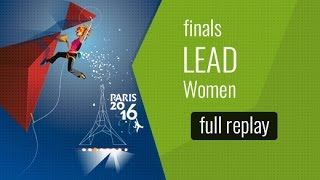 IFSC World Championships Paris 2016 - Difficulté - Finale - Femmes by International Federation of Sport Climbing
