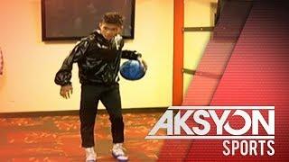 Jerwin Ancajas, nag-basketball bilang bahagi ng kanyang training