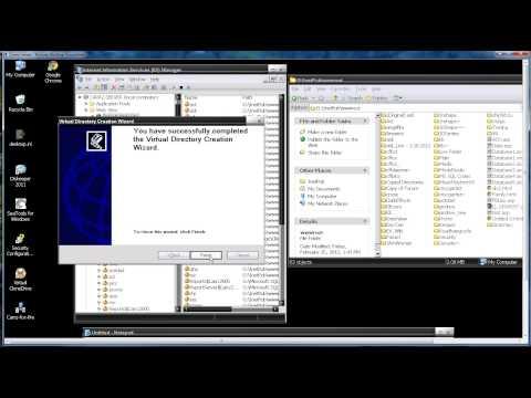 Add Virtual Website into IIS 6 Windows 2003 Server