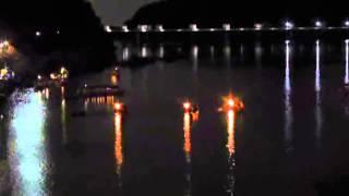木曽川の夏(2)犬山城・鵜飼い・花火