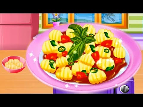 Gnocchi Cooking Game For Kids