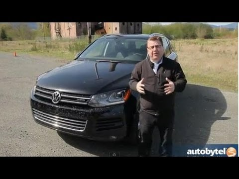 volkswagen - http://www.autobytel.com/volkswagen/touareg-hybrid/2013/ The second generation Volkswagen Touareg debuted as a 2011 model year and came with either a VR6, TD...