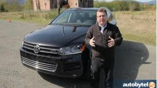 2013 Volkswagen Touareg Hybrid Test Drive&Supercharged SUV Video Review