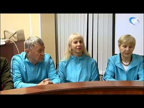 Состоялись проводы команды, которая примет участие в общероссийской Спартакиаде пенсионеров в Туле
