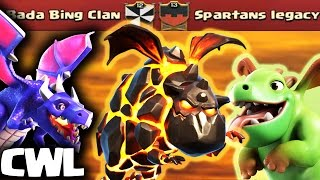 Dominating 3 Star Air Attack Strategies | Bada Bing Clan vs Spartans Legacy | Clash of Clans