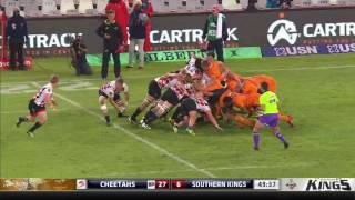 Cheetahs v Kings Rd.12 2016 | Super Rugby Video Highlights