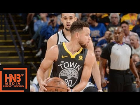 Golden State Warriors vs San Antonio Spurs Full Game Highlights / Feb 10 / 2017-18 NBA Season (видео)