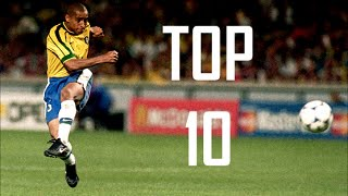 Die 10 schönsten Freistöße des Roberto Carlos
