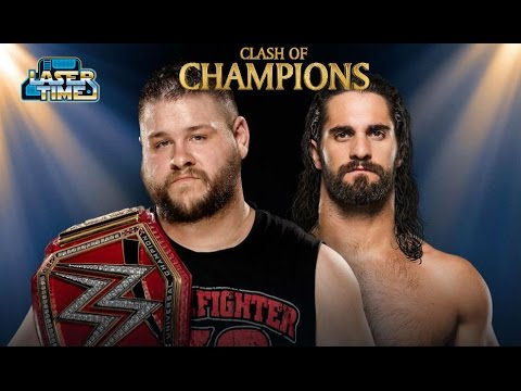 WWE Clash of Champions 2016 Predictions