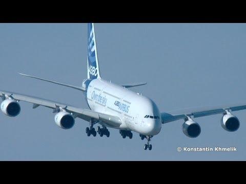 А380 крутой заход макс 2013 a380 steep approach maks