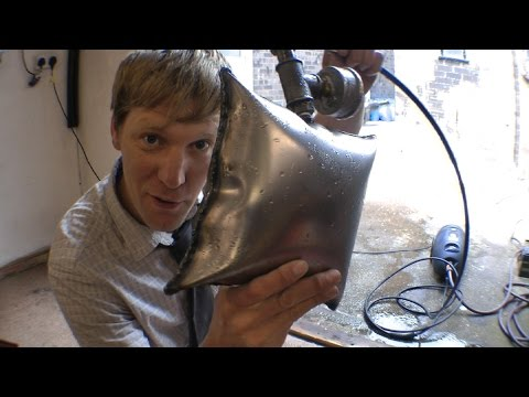Crazy Inventor Colin Furze Makes Balloons Out Of Sheet