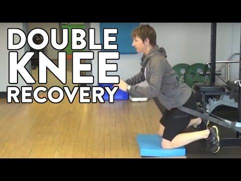 Hockey Goalie Training: Double Knee Recovery