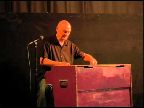Mellotron - Mike Pinder playing the Mellotron at the documentary double feature for Mellodrama: The Mellotron Movie and On The Threshold of a Dream in Los Angeles, 2010.