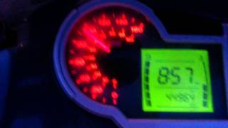7. Aprilia sportcity 200 acceleration 0-100
