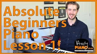 Video Absolute Beginners Piano Lesson Song 1 'Heart and Soul' MP3, 3GP, MP4, WEBM, AVI, FLV Agustus 2018