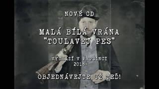 """Video Malá bílá vrána - nové CD """"Toulavej pes""""  (2018)"""