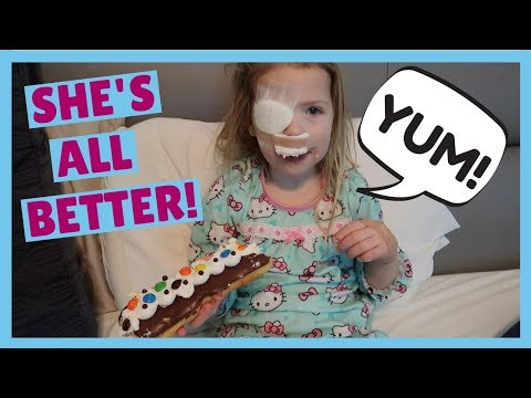 Maya Has Eye Surgery
