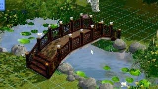 Как построить мост в Симс 3.