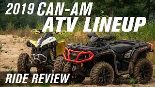 6. 2019 CAN-AM Outlander and Renegade | Ride Review