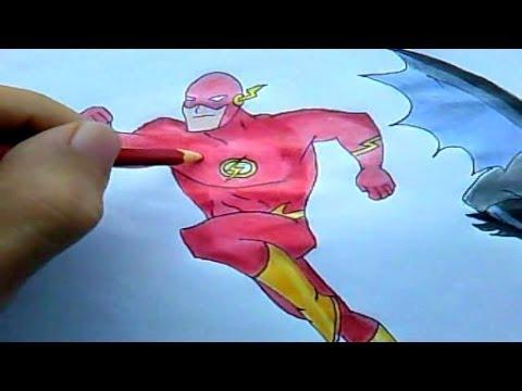 Como Desenhar The Flash (Liga da Justiça) #2
