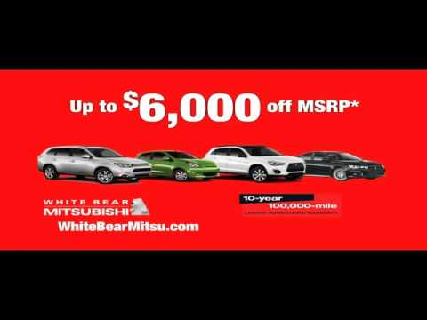 whitebearautos - http://www.whitebearautos.com/ White Bear Mitsubishi 3400 Highway 61 N St-Paul White-Bear-Lake MN, 55110 877-878-1398 White Bear Mitsubishi is a premiere Mit...
