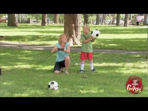 [Just4Laughs Gags] Tập 180: Exploding Soccer Ball Prank