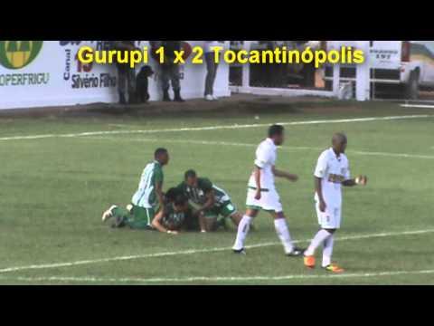 Os Gol de Gurupi 3 x 2 Tocantinópolis Decisão do 2º Turno do Tocantinense 2012.wmv