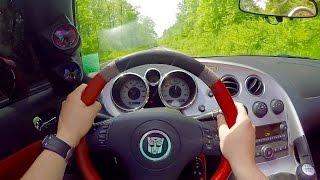 Driving a 700hp Nitrous V8 Pontiac Solstice (POV)