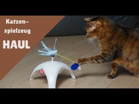 Elektronisches Katzenspielzeug von TRIXIE 😻 | HAUL 